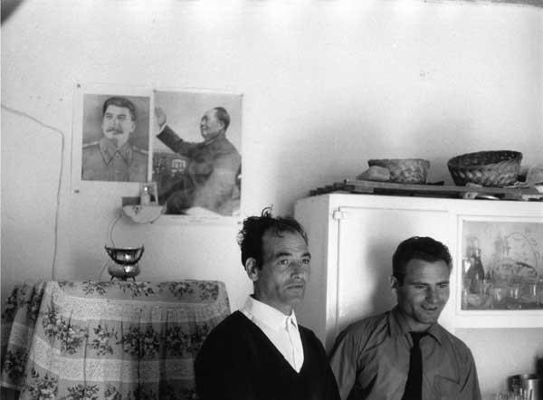 Maoist militants, 1962 @ photo by Mario Dondero