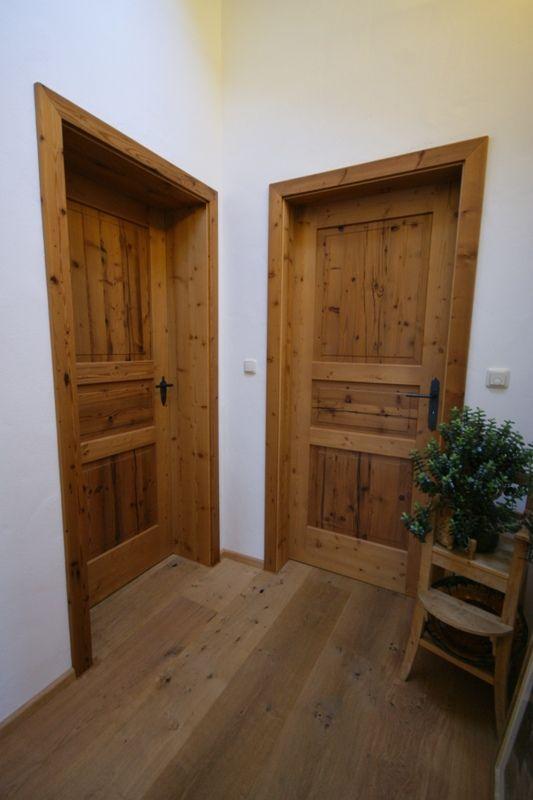 Individuelle Haustüren oder Zimmertüren aus Echtholz – Schreinerei Thaler & St… – Haus