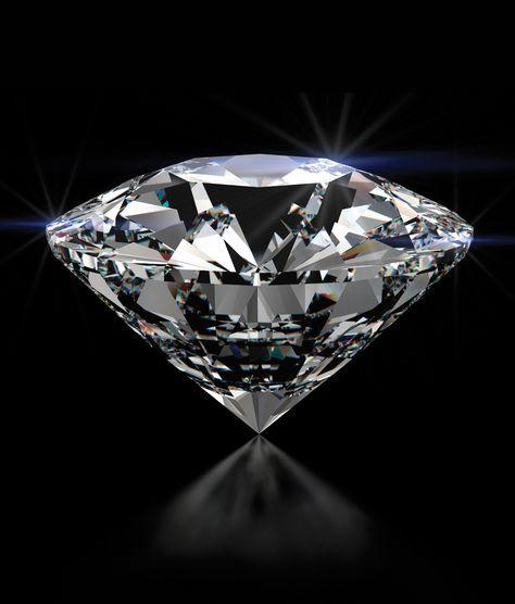 En mineralogía, el diamante (del griego antiguo αδάμας, adámas, que significa invencible o inalterable) es un alótropo del carbono donde los átomos de carbono están dispuestos en una variante de la estructura cristalina cúbica centrada en la cara denominada «red de diamante»
