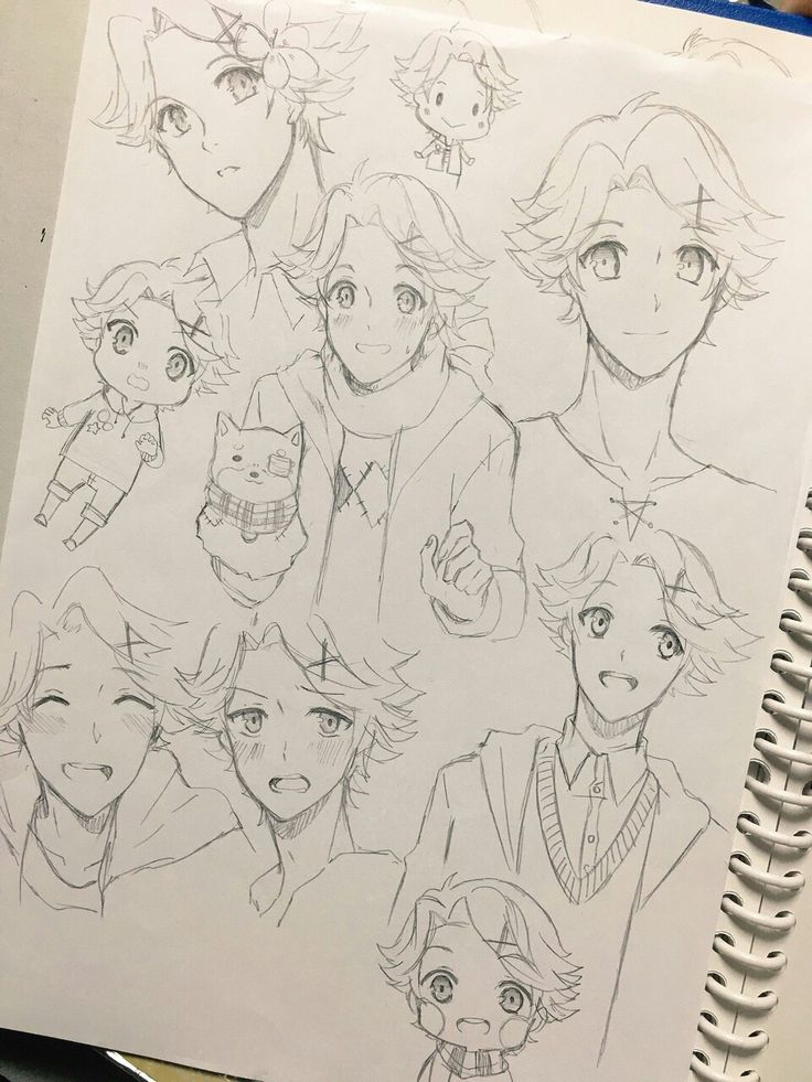 Great Yoosung sketches