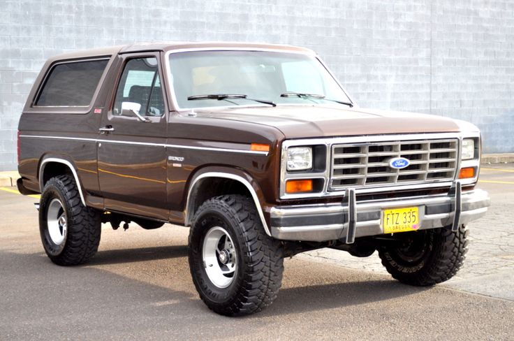 Buy used 1982 Ford Bronco Lifted 4X4 XLT Lariat 351 Winsor Nitrous ...