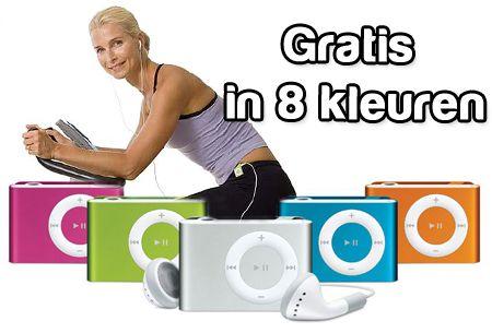 Mini Clip MP3 speler met koptelefoon t.w.v. €19,95 nu GRATIS! Keuze uit 8 kleuren  #MP3 #muziek #aanbieding  https://www.vouchervandaag.nl/aanbieding-gratis-mini-clip-MP3-speler-voucher