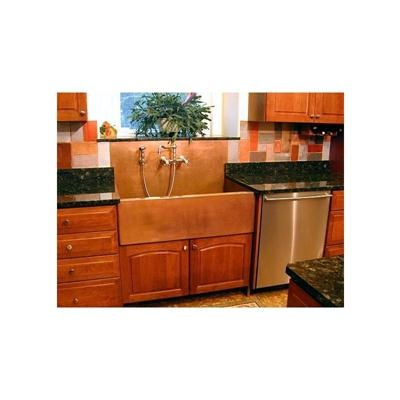 Kitchen & Bar Sink from Rachiele, Model: Copper Apron front sink with ...
