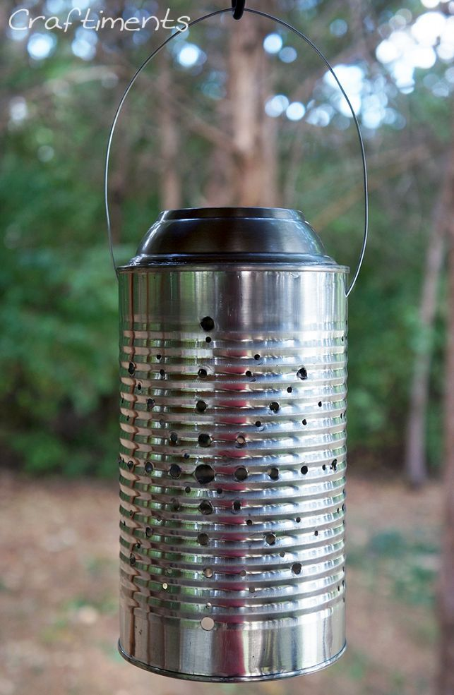 hometalk tin can solar lantern tutorial