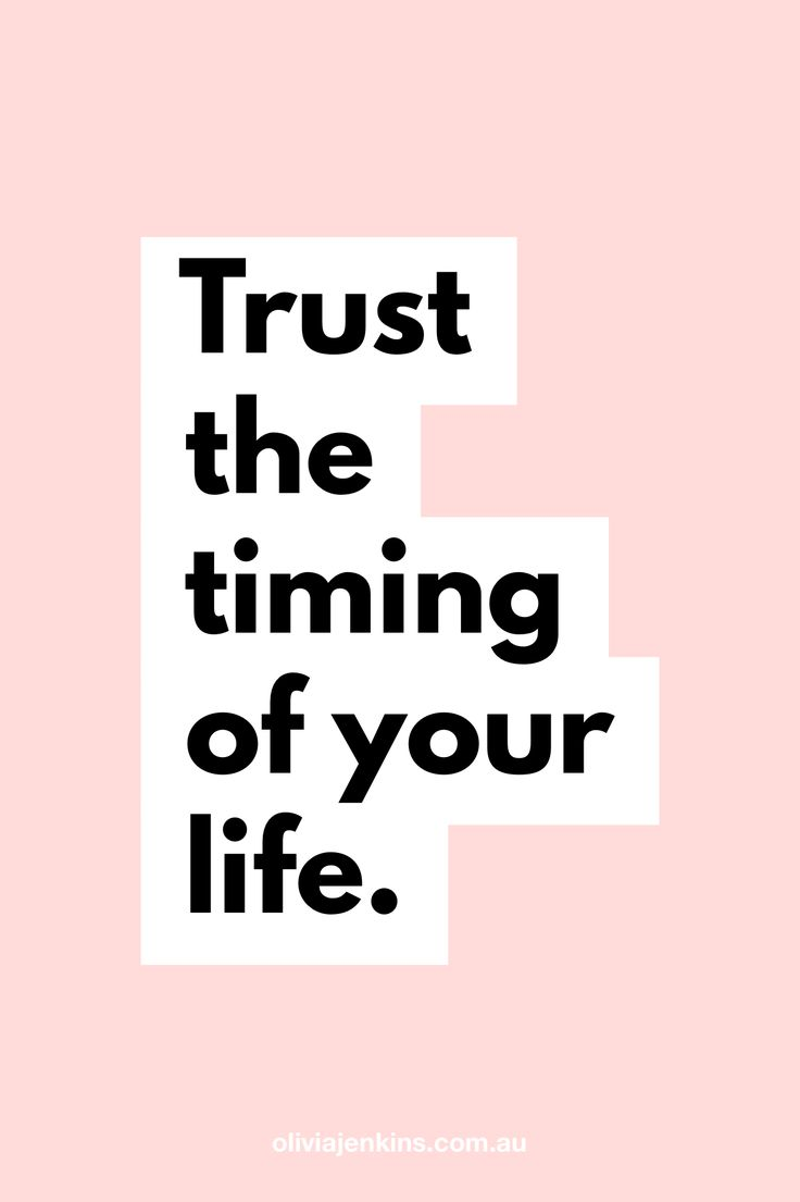 Trust the timing of your life. ✨ #motivation #q…