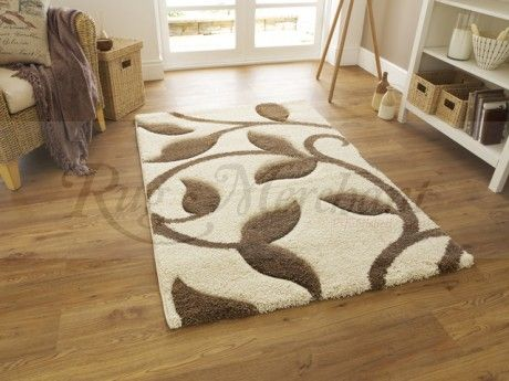 Part of Rug Merchant's Fashion Carving range of Shaggy Rug's