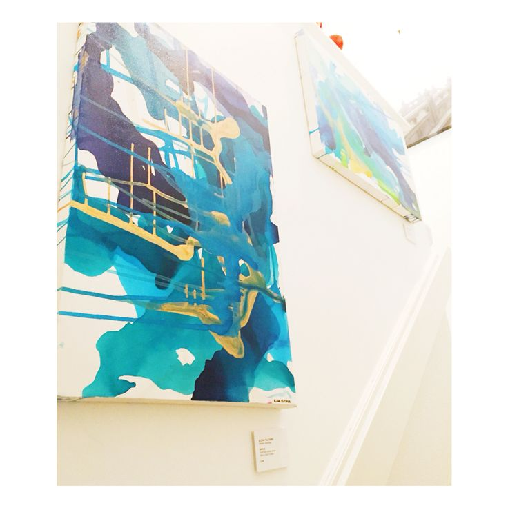 Artwork currently on display at The Artspace Collective in Scarborough by Alisha Falconer. www.alishafalconer.com