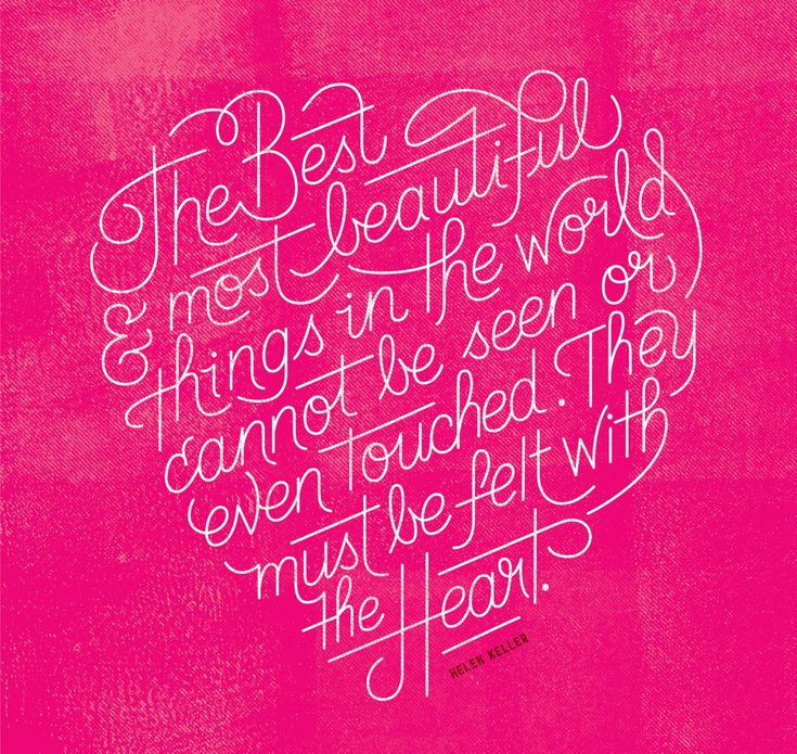 heart: Typography Quotes, Helen Keller Quotes, Motivation Quotes, Motivation Mondays, A Tattoo, Favorite Quotes, Inspiration Quotes, Heart Quotes, Beautiful Things