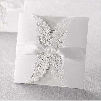 lace invitation card