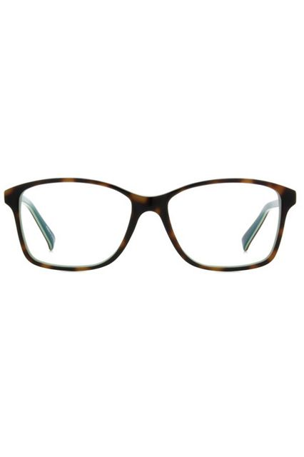 If you're more about square frames, Vanina picks out this pair from glasses.com's Sorella + Tomboy KC collection. We can't argue with the boxy shape, slightly oversized fit, and sweet price point.