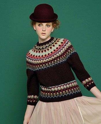Fair isle and hat: perfect