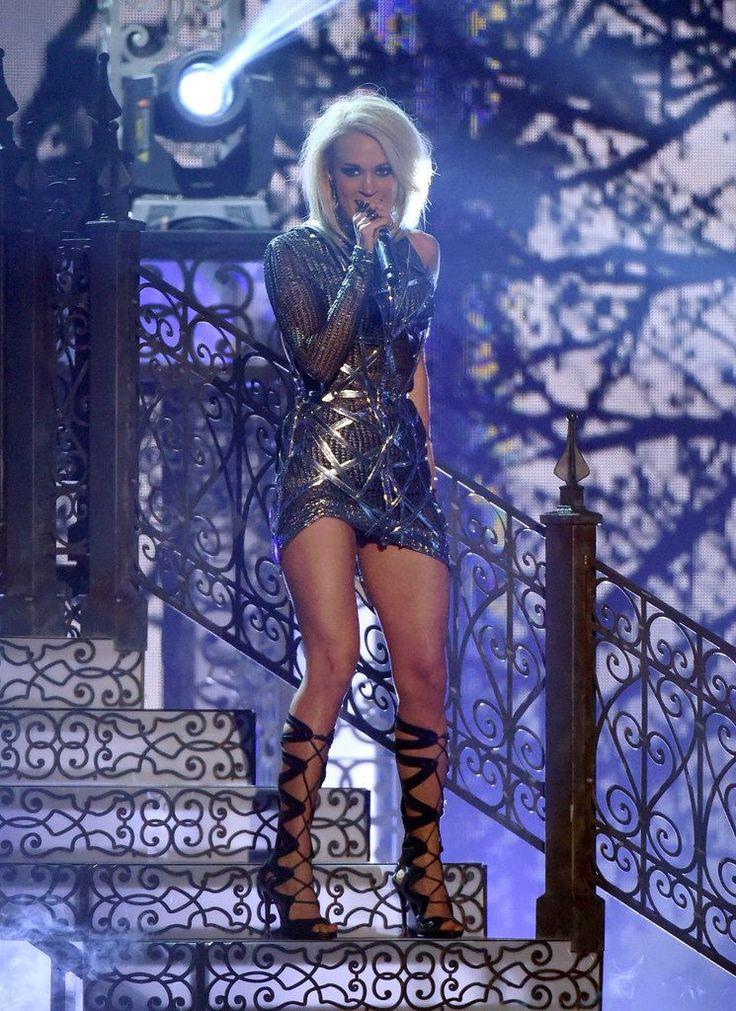 Carrie Underwood Performance Dress at ACM Awards 2016 | POPSUGAR Fashion Australia