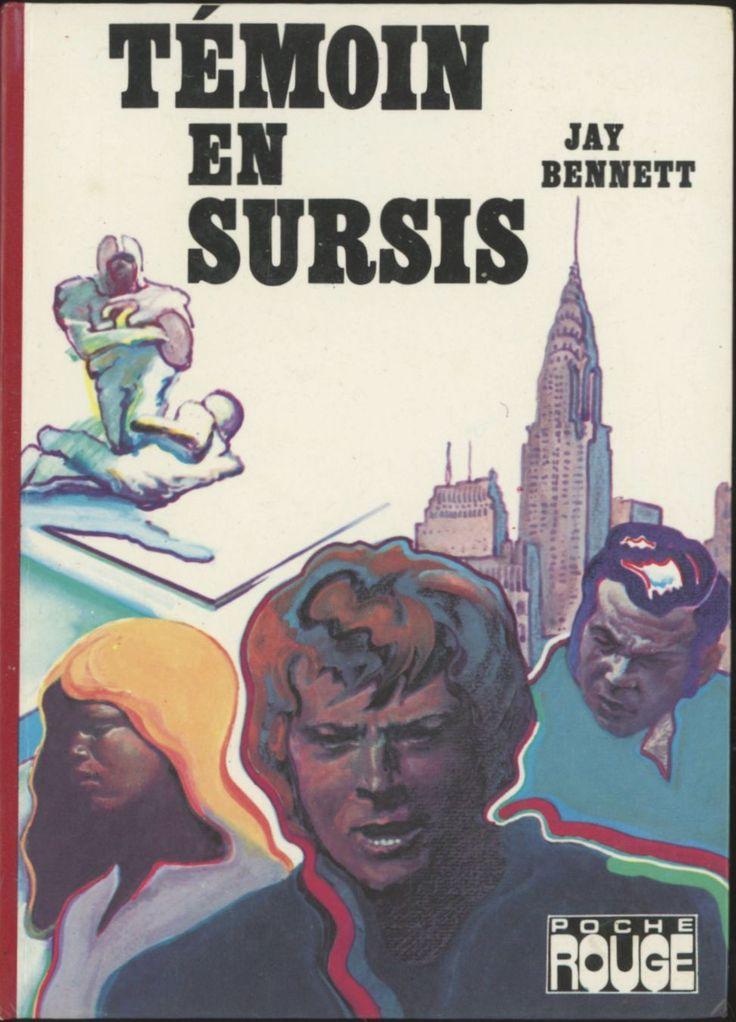 Gyula Konkoly - Témoin En Sursis, Jay Bennett, Hachette Bibliothèque Rouge (ou Poche Rouge), 1976
