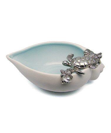 Mom: Look at this #zulilyfind! Turtle Ceramic Shell #zulilyfinds
