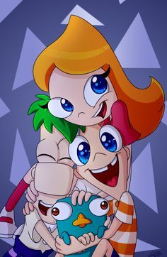 phineas and ferb anime - Buscar con Google