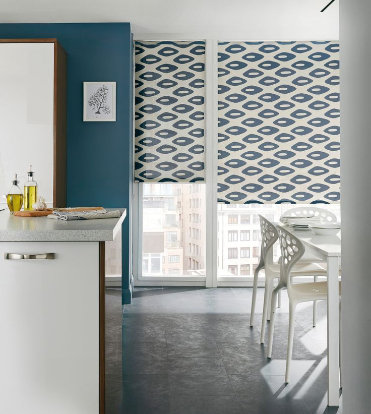 Inject Live Into Your Dining Room With A Pattern Rollerblinds Patternedblinds Home