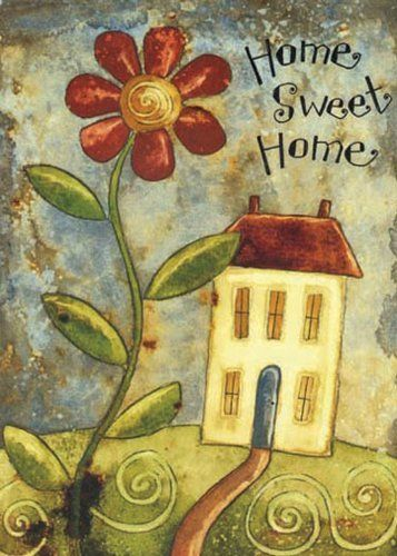 Home Sweet Home House Flag By Toland Home Garden
