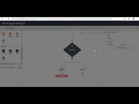 Virtual Agent Script Variables - ServiceNow Madrid -Part 1