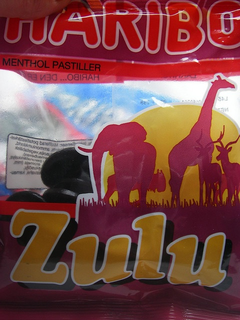 Dejlig - og med menthol. Se evt. mere på http://slikleksikon.org/zulu