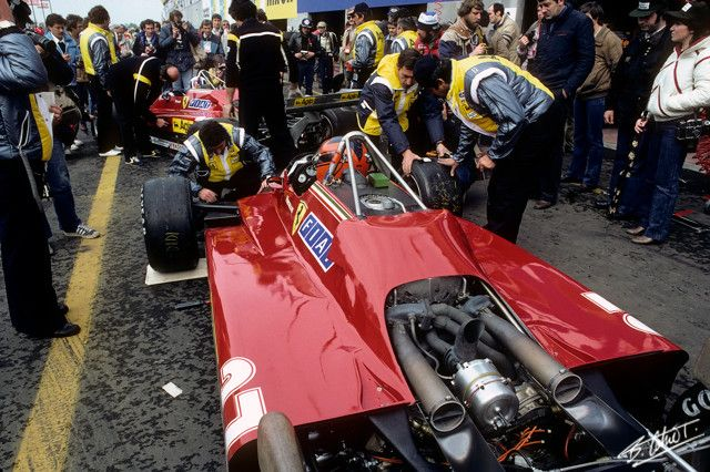Gallery: The glory of turbocharged F1 machinery