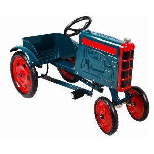 Enertec Tractor Pedal Car - Green