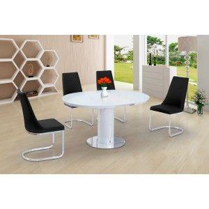 Roberto x 4 Black Giovanni Chairs