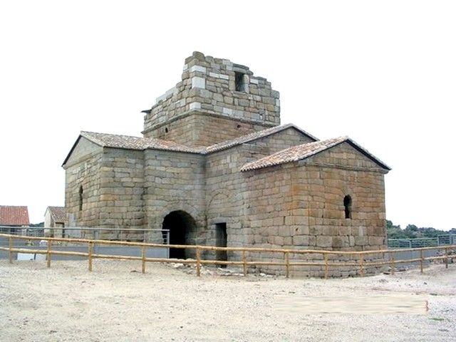 Santa María de Melque. Vista general desde el sudeste