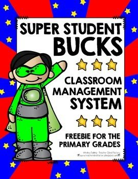 This classroom management system from kdolling claclallows kiddos to earn play money for all sorts of things (manners, trying their best, helping others, etc).  Every other week, they cash it in to earn a small reward. (I offer up a lunch date with the teacher!  It's amazing how far a kiddo will go to eat a meal in the classroom!) Your kids will love earning money and will ask to count it all of the time.