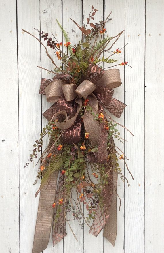 Elegant Fall Swag, Fall Swag with bittersweet,Fall Swag, Fall Berry wreath, Harvest Swag, Harvest Wreath, Fall Swag, Pumpkin Swag, Autumn Swag, Fall Wreath, Autumn Wreath, Pumpkin Wreath, Primitive Wreath, Thanksgiving Wreath, Rustic Fall Wreath, Country Fall Wreath, Natural Fall Wreath, Fall Backdoor Wreath, Fun Fall Wreath, Fall Pumpkin Wreath, bittersweet wreath, bittersweet swag    More Fall Wreaths https://www.etsy.com/shop/Keleas?section_id=13673548&ref=shopsection_leftnav_3   Lovely…