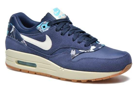 Nike Wmns Air Max 1 Print Blauw - Sneakers bij Sarenza.nl (230685)