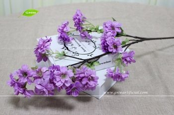 GNW BLB-CH1605003 Real touch Artificial purple cherry blossom flower for sale