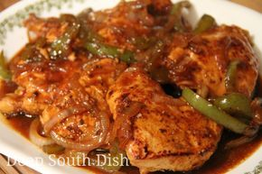 Honey Sweet Pepper Chicken Breasts - Boneless, skinless chicken breasts, marinated in lime juice and Italian seasoning, browned then brushed with honey and cooked with sweet bell peppers. Serve with pan juices over rice.