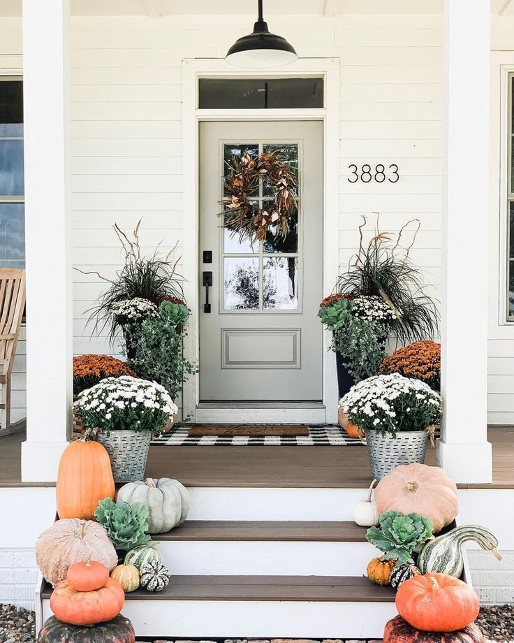 The Best Fall Porch Decor Ideas For Your Home City Girl Gone Mom Fall Decorations Porch Fall Outdoor Decor Fall Front Porch Decor