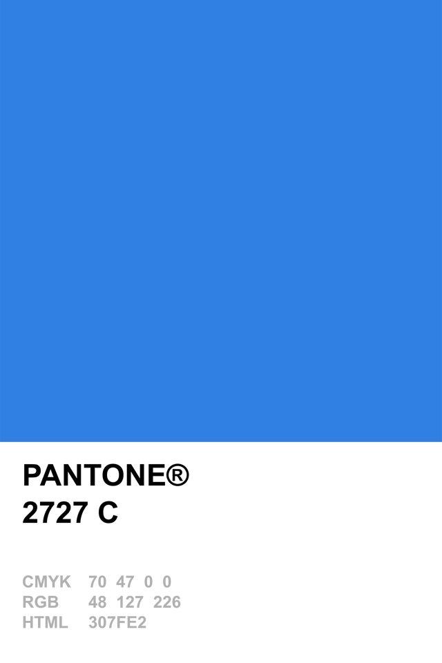 Pantone 2727 C