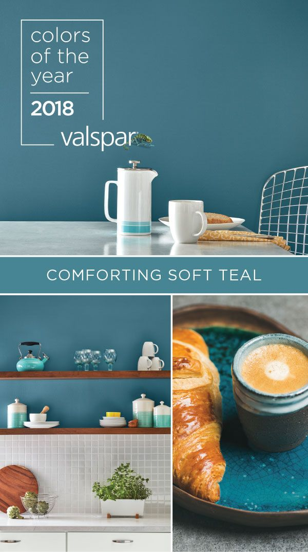 Soft Teal Is An Effortless Companion To A Range Of Other Colorakes Change Easy Find It At Lowe S 5001 6b Sk Valspar 2018 Colors The Year In