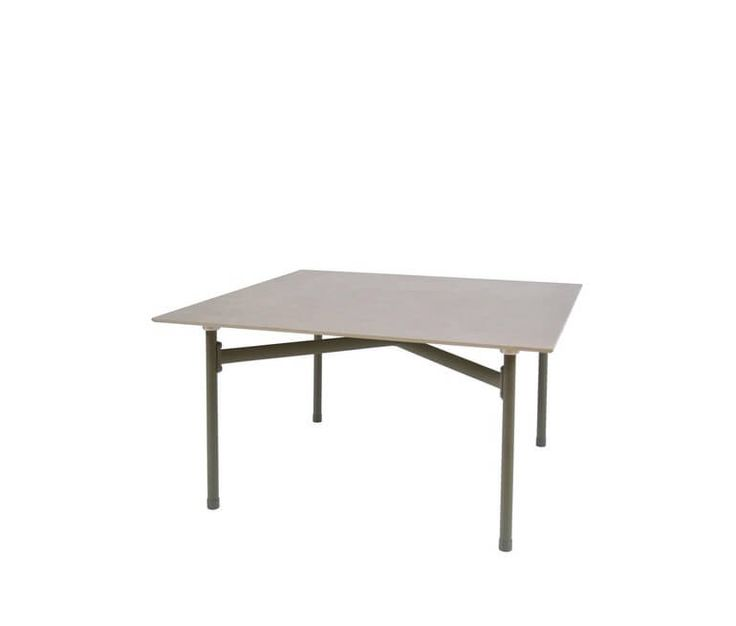 Coffee table with ceramic top 75x75
