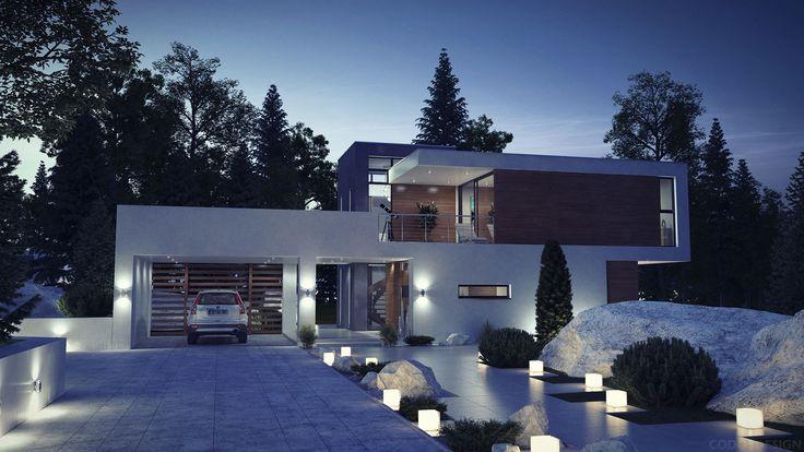 Modern House - 1 Minecraft Project