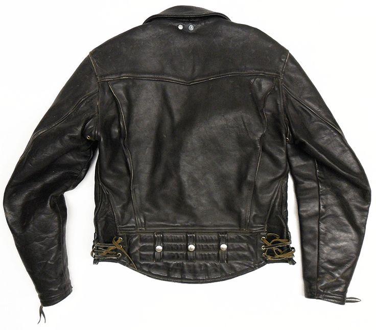 Vintage Langlitz Columbia Jacket Back Jackets Vintage