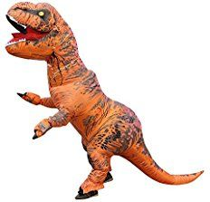 """100% Polyester Imported Hand Wash 11"""" wide Officially licensed Jurassic world t-rex costume fits a 42 to 44-inch jacket size with up 34 to 36-inch waist In"""