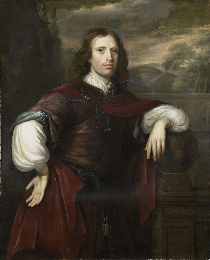 Portret van een man, Herman Verelst, 1667