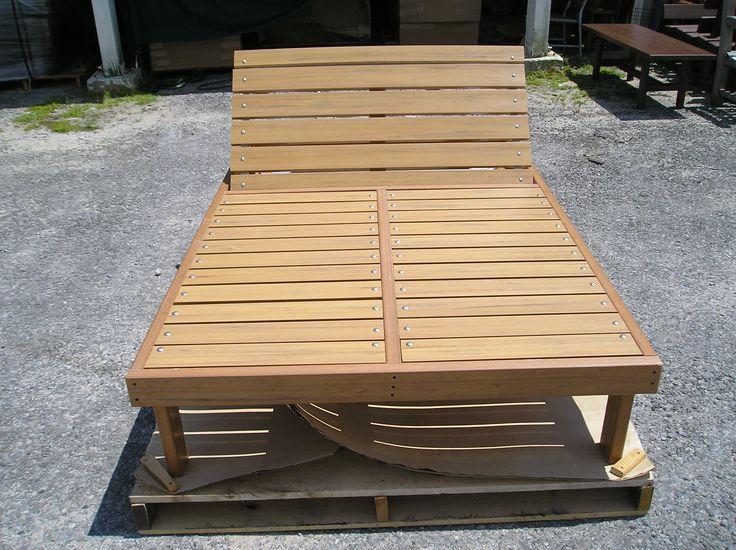 Wood Double Chaise Lounge Woodworking Projects Amp Plans