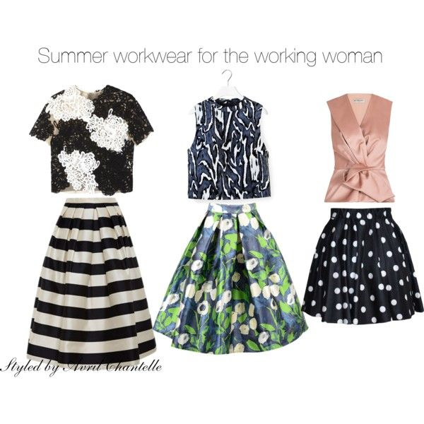 """""""Summer workwear"""" by avrilchantelle on Polyvore"""