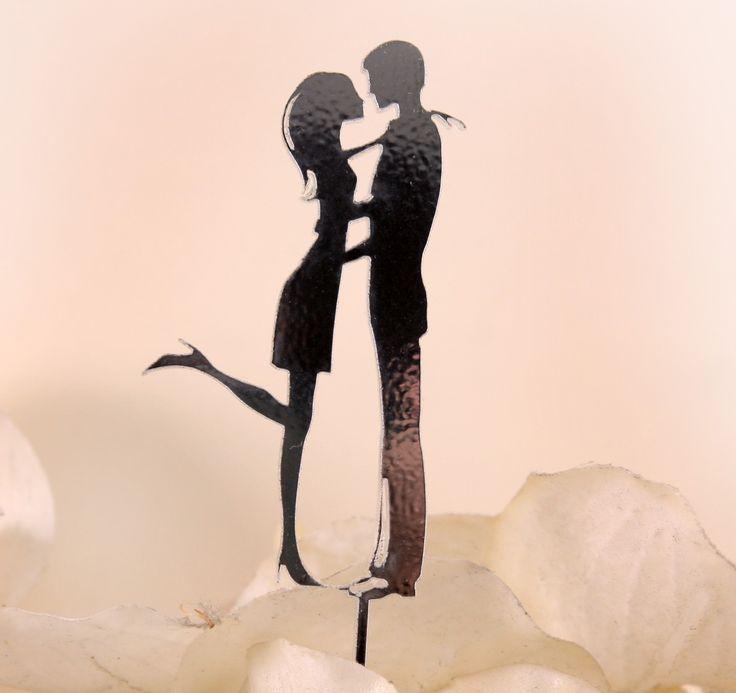 Akrylowa, wycinana laserowo figurka na tort weselny - nowość i hit sezonu!