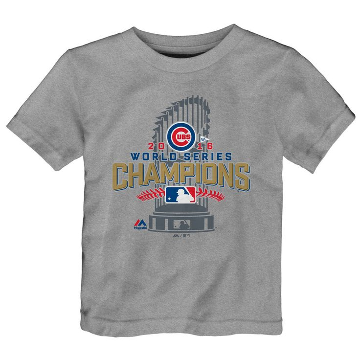 Chicago Cubs 2016 World Series Champions Toddler Locker Room T-Shirt  #ChicagoCubs #Cubs #FlyTheW #WorldSeries SportsWorldChicago.com