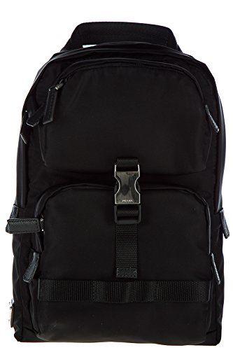 dc9bbbd2bb70 Prada mens Nylon rucksack backpack travel montagn black Rucksack Backpack,  Travel Backpack, Blacked Online