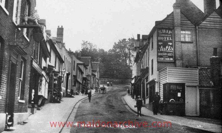Market Hill, Maldon (between 1901 -1978)