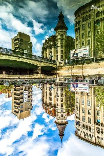 Izvor, #Bucharest #mirror Foto: Octav Dragan