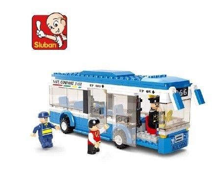 $15.50 (Buy here: https://alitems.com/g/1e8d114494ebda23ff8b16525dc3e8/?i=5&ulp=https%3A%2F%2Fwww.aliexpress.com%2Fitem%2FPlastic-Building-Blocks-sets-235pcs-Sluban-City-bus-DIY-Enlighten-bricks-Compatible-with-lego-educational-toys%2F32231860100.html ) New Sluban City Bus Plastic Building Blocks 235pcs/set DIY Enlighten Model Car Kits Building Bricks Compatible with legoe toys for just $15.50