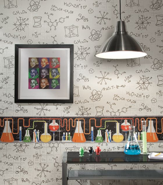 Encourage The Mad Scientist In Your Family With Chemistry Wallpaper Fromu2026