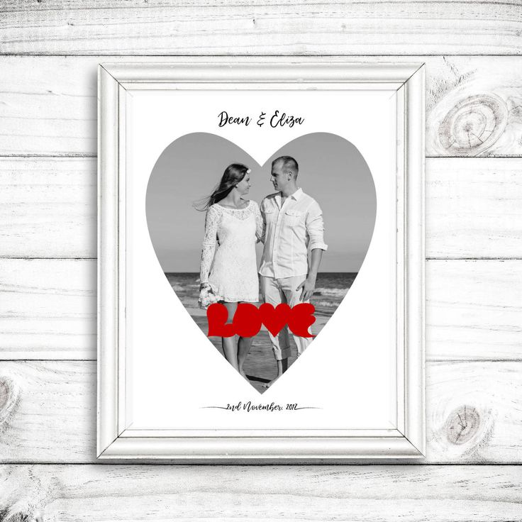 Heart Photo Collage, Love, Custom Picture Collage, Valentine's Day Gift, Anniversary Gift, Wedding Gift, Gift For Her, Digital File